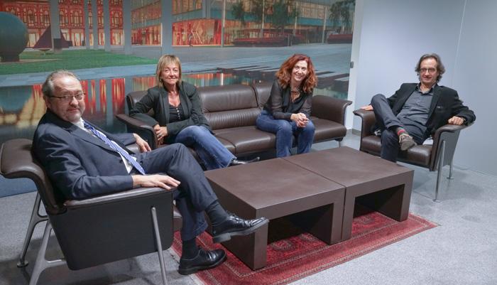Jordi Royo, Montse Magrané, Anna Velilla y Ramon Martí