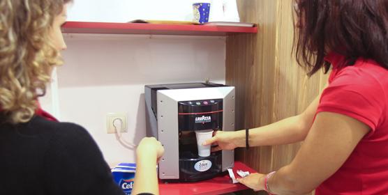Calor y café