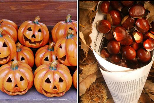Castañada y Halloween