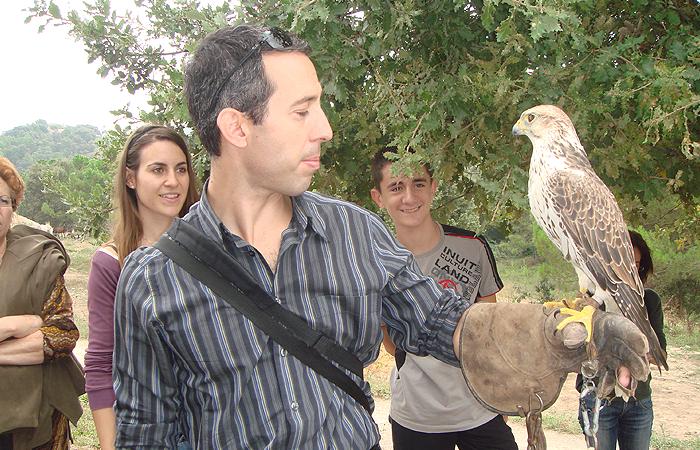 Visita al Centre d'Apropament a la Natura de Navàs