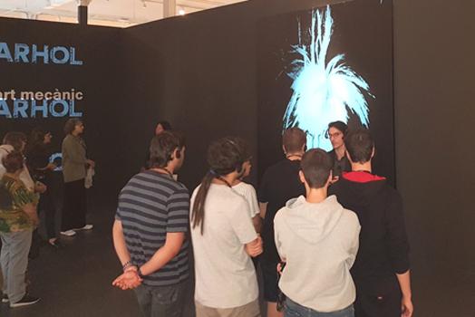 Visita expo Andy Warhol