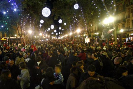 Christmas fair in Tarragona