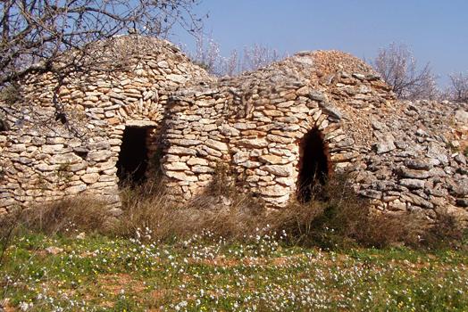 Barracas de piedra seca